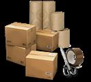 Rolety są bezpiecznie pakowane w solidne kartonowe pudełka i trwałe tuby